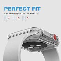 Proteggi schermo Apple Watch 2/3 (42 mm) con protezione dei bordi - tr