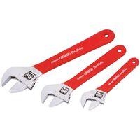 Draper Tools 3 Pz Set Chiavi a Rullino Regolabili Redline 67634