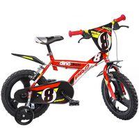 """Dino Bikes Bicicletta per Bambini Pro-Cross Rossa 16"""" DINO356005"""