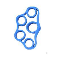 Cinturino in gomma per l'allenamento della forza delle dita Blu