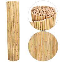 vidaXL Recinzione in Bambù 300x130 cm
