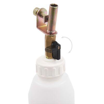 vidaXl Spurgo Freno Pneumatico Pompa Estrattore con Bottiglia 3,5 L