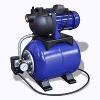 Pompa da giardino elettrica 1200W Blu