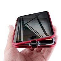 Custodia magnetica per iPhone 7/8 Plus - rossa