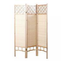 Paravento giapponese in pino e bambù NEW