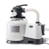 Intex Pompa con Filtro a Sabbia Krystal Clear 26648GS 10,5 m³/h