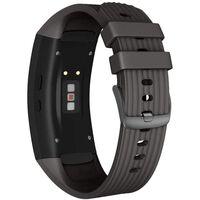 Cinturino Per Samsung Gear Fit 2 / Gear Fit2 Pro Silicone Nero - S