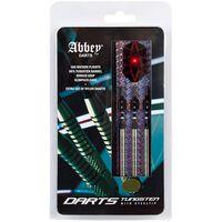 Abbey Darts Set di Freccette 3 pz 85% Tungsteno 26 g Argento