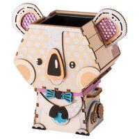 Robotime Kit di Costruzione Vaso Fiori Koala