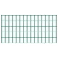 vidaXL 2D Pannelli Recinzione Giardino 2,008x1,03 m 16m (Totale) Verde