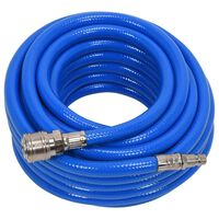 YATO Air Hose with Coupling PVC 8mmx10m Blue