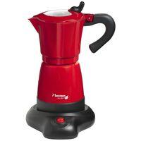 Bestron Macchina per il Caffè Espresso 6 Tazze 480 W Rossa AES480
