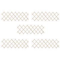 vidaXL Recinzione a Traliccio 5 pz in Legno di Abete 180x60 cm