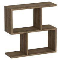 Homemania Tavolino da Salotto Ecrin 60x20x59,4 cm Noce