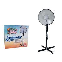 Ventilatore portatile - 40cm - 45W - regolabile in altezza - 3