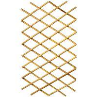 Nature Pergolato da Giardino 100x200 cm Bambù 6040722