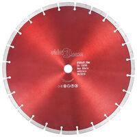vidaXL Disco da Taglio Diamantato in Acciaio 350 mm