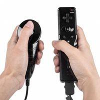 Telecomando Wii e controller Nunchuk