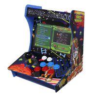 Mini Macchina Arcade con 1299 Giochi Vintage da Bar o da Tavolo