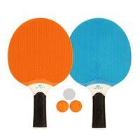 Get & Go Set Tenis da Tavola all'Aperto Blu/Arancione/Grigio 61UP