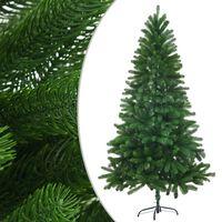 vidaXL Albero di Natale Artificiale con Aghi Realistici 150 cm Verde