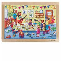 Beleduc Puzzle a Telaio Festa di Compleanno