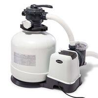 Intex Pompa con Filtro a Sabbia Krystal Clear 26652GS 12 m³/h