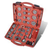 vidaXL Kit Strumenti di Riparazione 40 pz Pistoni Pinze Sistemi Freni