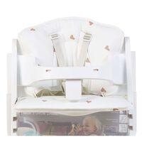 CHILDHOME Cuscino per Seggiolone per Bambini Jersey Hearts