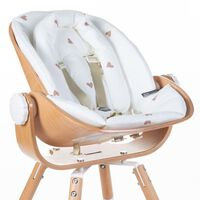CHILDHOME Cuscino per Sedile Neonati Evolu Jersey Hearts