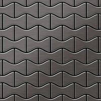 Alloy Kismet-ti-sb Mosaico Metallo Solido Titanio Grigio