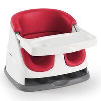 Ingenuity Rialzo Sedia Bambini 2-in-1 Baby Base Rosso Papavero
