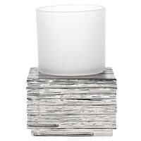 RIDDER Bicchiere Contenitore Brick Argento
