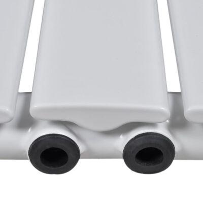 vidaXL Termosifone Radiatore Bianco 542 mm x 1500 mm
