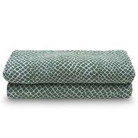Jollein Panno Idrofilo Multiuso 2 pz Snake 115x115 cm Verde Cenere