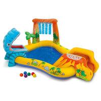 Intex Piscina Gonfiabile Dinosaur Play Center 249x191x109 cm 57444NP