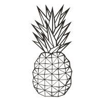 Decorazione da Parete Ananas