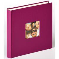 Walther Design Album Fotografico Fun 30x30 cm Viola 100 Pagine