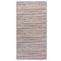 vidaXL Tappeto da Esterni Marrone 120x180 cm in PP