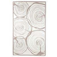 Esschert Design Tappeto da Esterno 240x150 cm Anelli di Crescita