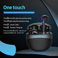 EarPods - cuffie wireless con custodia di ricarica - nero