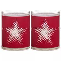 Bolsius Luci Decorative 6 pz Stella Rosse 103622390541