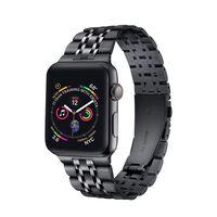 Bracciale Apple Watch 42/44 mm in acciaio inossidabile - nero