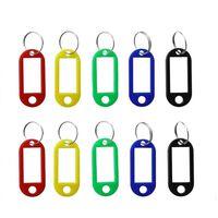 Portachiavi (rosso, blu, verde, giallo, nero) Confezione da 10
