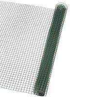 Nature Recinzione da Giardino in Rete Quadrata 5x5 mm 1x3 m Verde