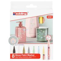 edding Pennarelli a Tinte Lucide 8 pz Multicolore