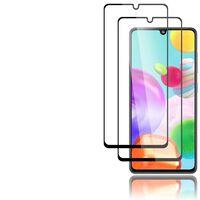 Pellicola salvaschermo in confezione da 2 per Samsung Galaxy A41 nera