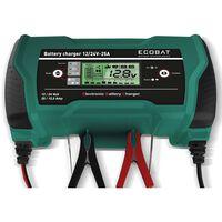 ECOBAT Caricabatterie 12/24 V 25 A
