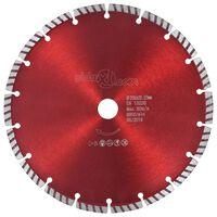 vidaXL Disco da Taglio Diamantato con Turbo in Acciaio 230 mm