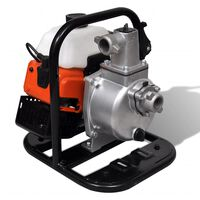 vidaXL Pompa d'Acqua a Benzina 2 Tempi 1,2 kW 0,95 L